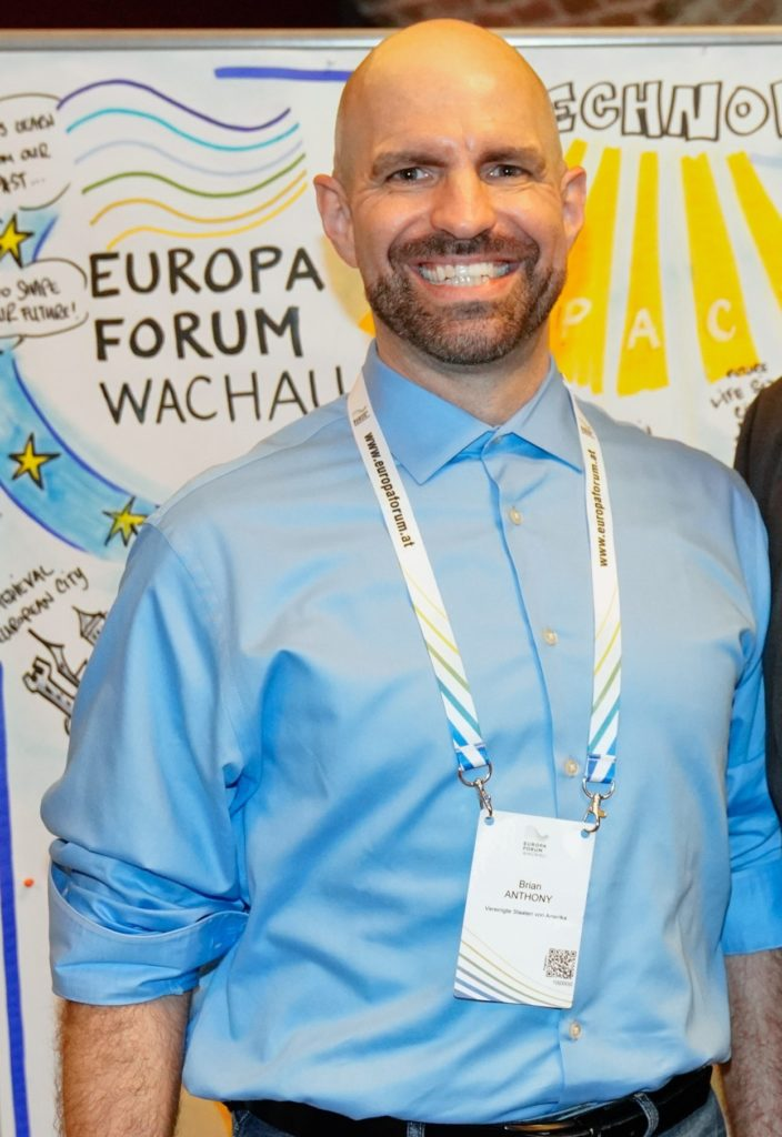 Brian Anthony, Europa-Forum Wachau 2019