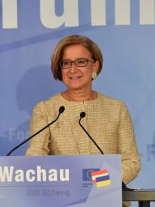 Johanna Mikl-Leitner, Europa-Forum Wachau 2017