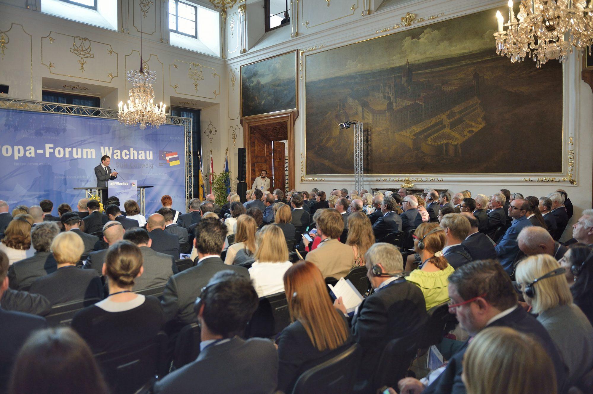 Europa-Forum Wachau 2016