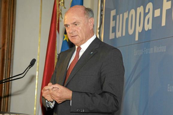 Dr. Erwin Pröll, Europa-Forum Wachau 2012