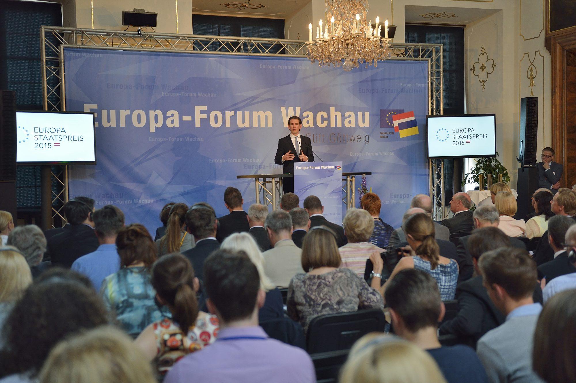 Europa-Forum Wachau 2015