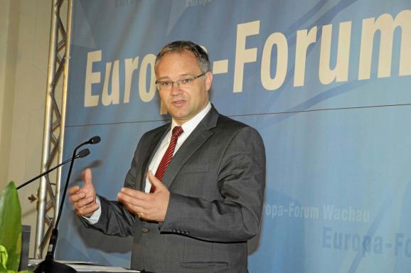 Klaus Tschütscher, Europa-Forum Wachau 2011