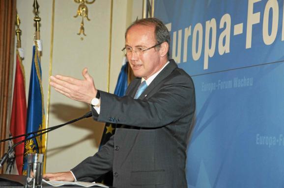 Othmar Karas, Europa-Forum Wachau 2012