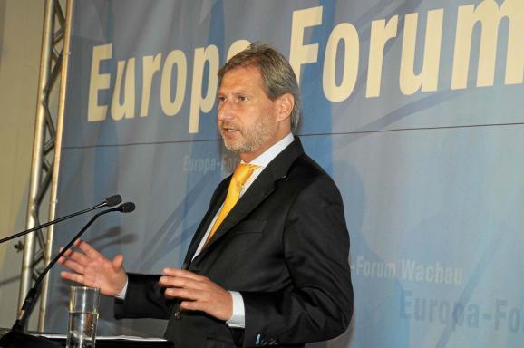 Johannes Hahn, Europa-Forum Wachau 2011