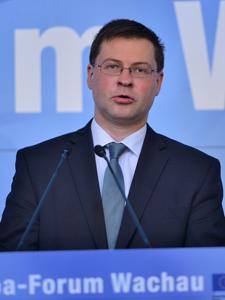 Valdis Dombrovskis, Europa-Forum Wachau 2013