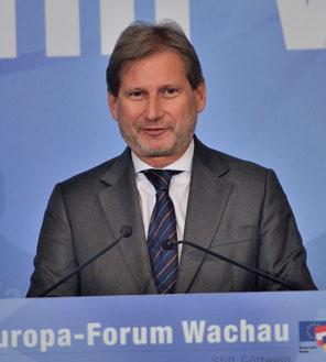 Johannes Hahn, Europa-Forum Wachau 2014