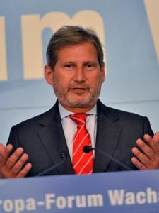 Johannes Hahn, Europa-Forum Wachau 2013