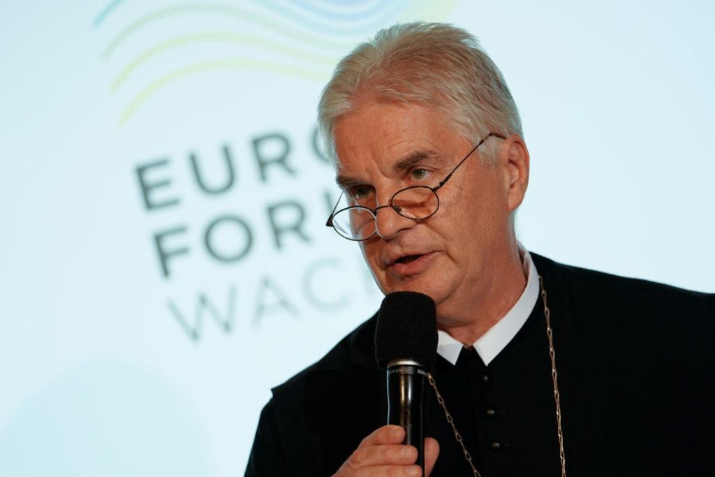 Prälat Columban Luser, Europa-Forum Wachau 2018