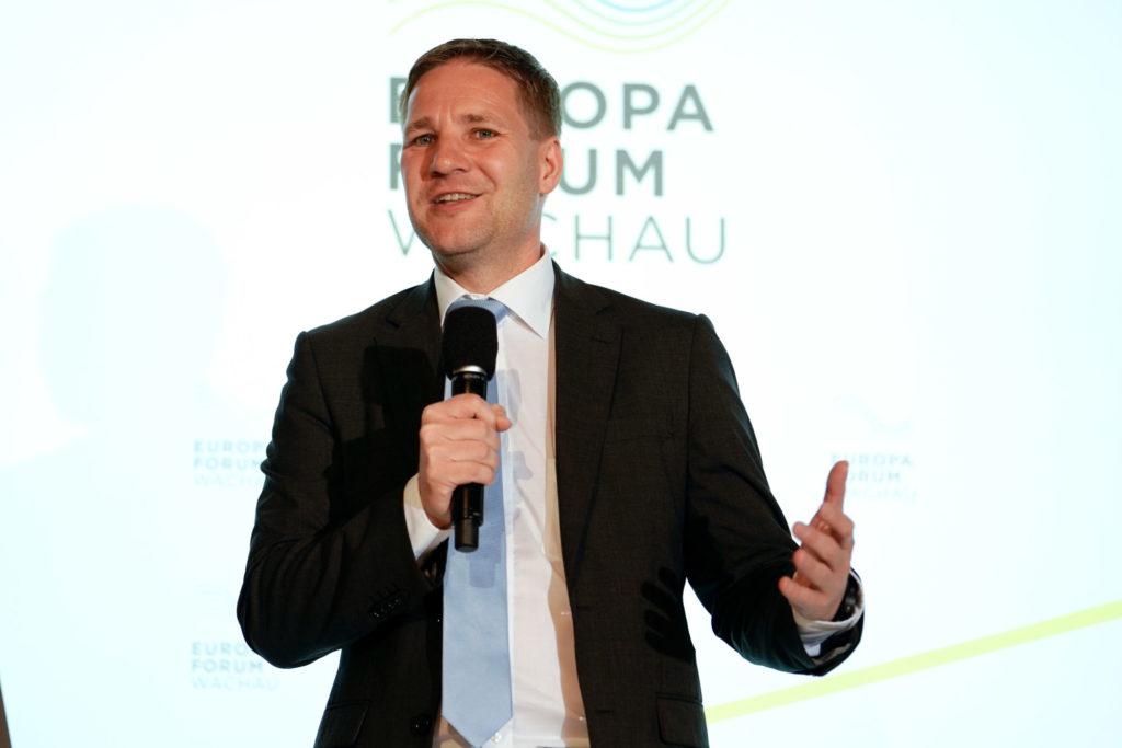Gottfried Haber, Europa-Forum Wachau 2019