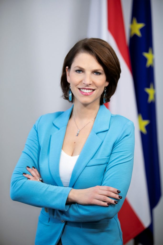 Karoline Edtstadler, Europa-Forum Wachau 2019