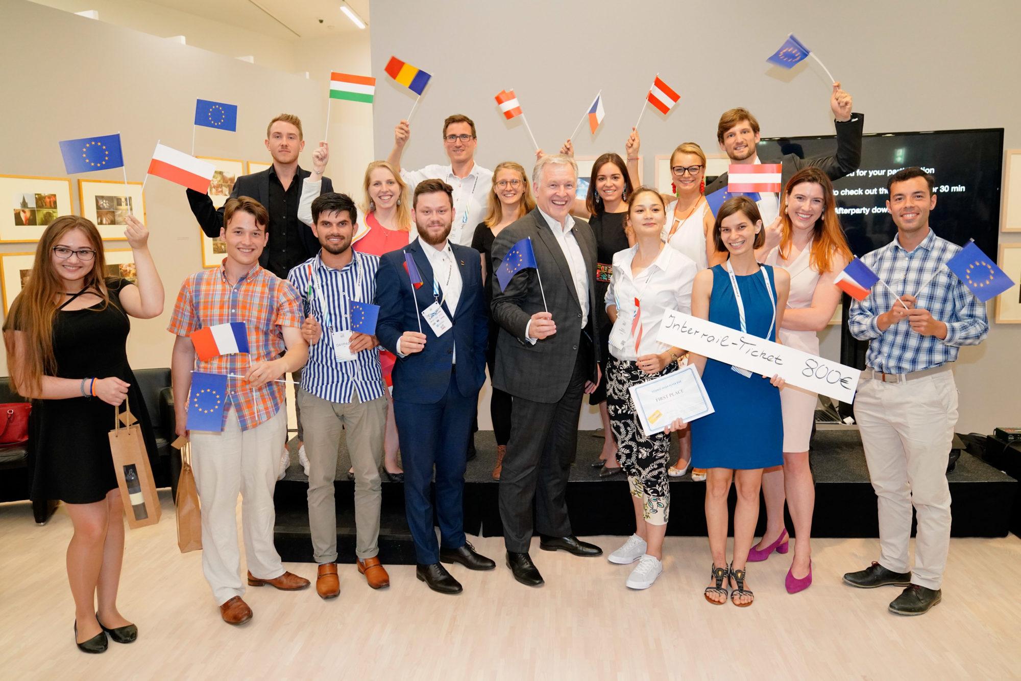 Online-Europatag – 25 Jahre NÖsterreich in der EU