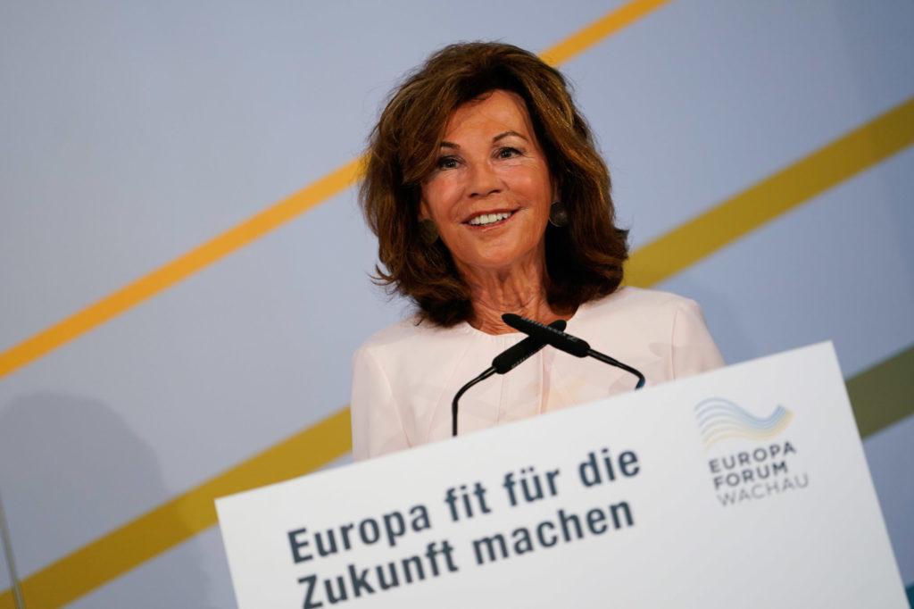 Brigitte Bierlein, Europa-Forum Wachau 2019