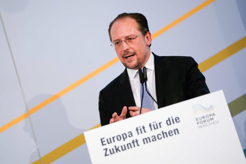Alexander Schallenberg, Europa-Forum Wachau 2019